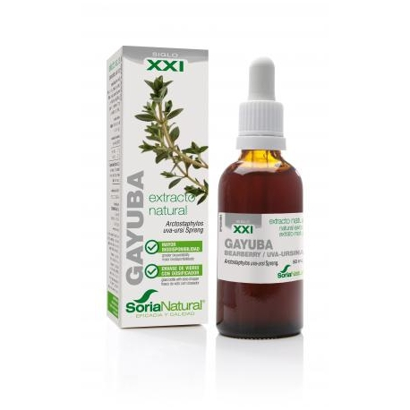 Extracto de Gayuba XXI 50 ml.