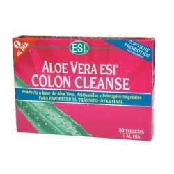 Aloe vera Colon Cleanse 30 comprimidos