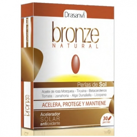Bronze natural 30 perlas