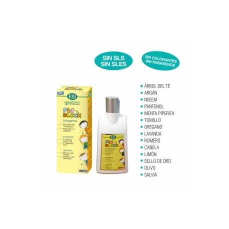Pid Block Champú 200 ml.